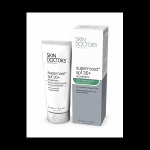 Увлажняющий солнцезащитный крем для лица Skin Doctors Supermoist™ SPF 30+  фото