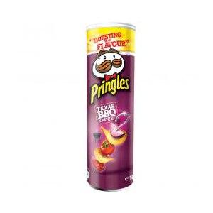Чипсы картофельные Pringles Texas bbq фото