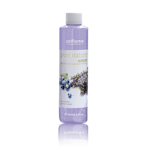 "Тоник  Oriflame Успокаивающий Pure Nature Organic Blueberry & Lavender extract Calming Toner ""Черника и Лаванда"" фото"