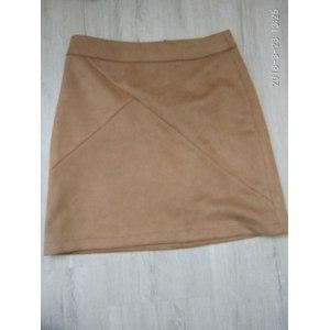 Юбка AliExpress FinalFit High Waist Pencil Women Skirt Suede Tight Bodycon Sexy Short Mini Skirt Women faldas jupe фото
