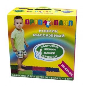 Детские товары ОРТО ПАЗЛ Коврик массажный фото