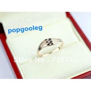 Кольцо Aliexpress Italina rigant 18k rose gold Austrian crystal Retro Triplex ring cute girl фото