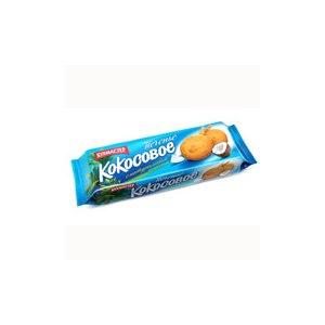 Печенье Кухмастер «Кокосовое» сдобное фото