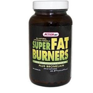Action Labs Капсулы для похудения Super Fat Burners, Plus Bromelain фото