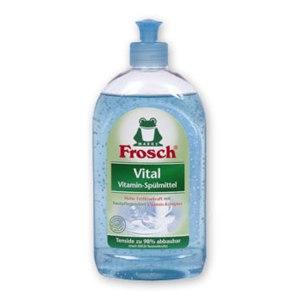 Средство для мытья посуды Frosch Vital с витаминами фото