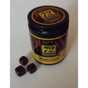 Шоколад Lotte Горький в кубиках Dream Cacao 72% фото