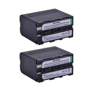 Аккумулятор Batmax NP-F960/NP-F970 7.2V 7200 мАч фото
