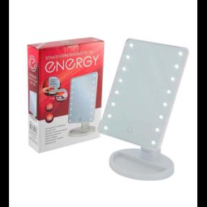 Настольное косметическое зеркало с подсветкой Energy EN-704s фото