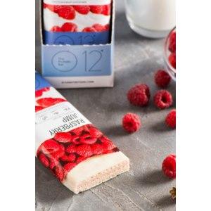 Протеиновый батончик О12 The Protein Bar с малина в йогурте фото