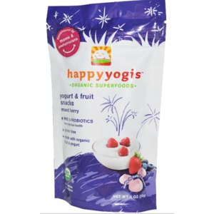 Снэки Nurture Inc. (Happy Baby) happyyogis, Yogurt & Fruit Snacks фото