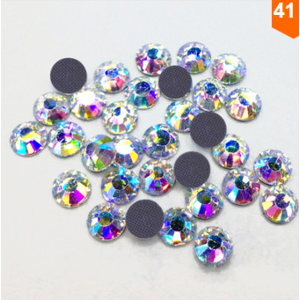 Стразы Aliexpress Wholesale!Buy 3 bags get 1bag free 1440pcs SS12 Clear Crystal DMC HotFix FlatBack Strass Rhinestones Hot Fix Stones фото