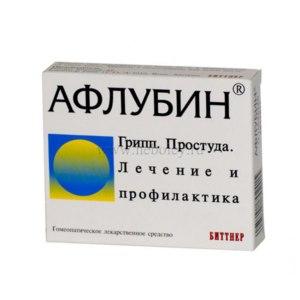Гомеопатия Bittner Richard Афлубин (в таблетках) фото