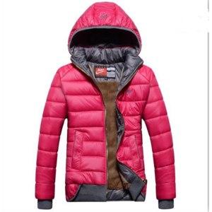 Куртка AliExpress free ship winter women coat 2014 new brand fashion jacket luxury raccoon fur collar overcoat warm thicken down-cotton slim parka фото