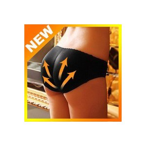 Трусы Aliexpress Free shipping Charming Sexy Women Padded Seamless Butt Hip Enhancer Shaper Panties Underwear фото