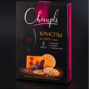 Снэки Chimple из сыра Криспы Винное Ассорти фото