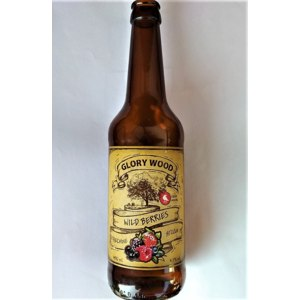 Слабоалкогольный напиток Glorywood Медовуха Лесные ягоды полусладкий 4,7 % алк., фото
