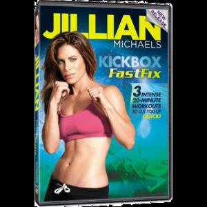 Фитнес-программа Jillian Michaels - Kickbox FastFix фото