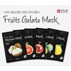 Тканевая маска для лица SNP Fruit Gelato Mask фото