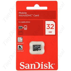 Карта памяти SanDisk Tinydeal Genuine 32 GB TransFlash TF Micro SD Memory Card SATF32G фото