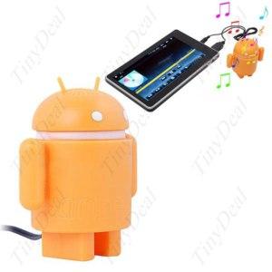 USB-колонки TinyDeal Аудио динамик робот Андроид / Android для телефона, плеера, планшета, ноутбука фото