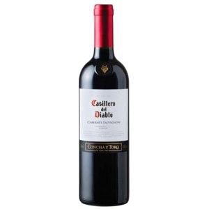 """Вино Concha y Toro """"Casillero Del Diablo Cabernet Sauvignon"""" (Казильеро Дель Дьябло Каберне Савиньон) алк. 13,5% красное сухое 0,75л  фото"""