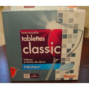 Таблетки для посудомоечной машины Auchan Tablettes classic фото