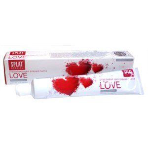 Зубная паста SPLAT Love фото