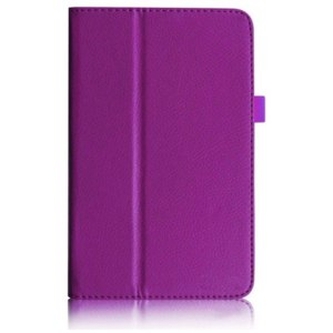 """Чехол для планшета Aliexpress ASUS Aliexpress - 2014 new arrival hot sale PurpleFolio Leather Stand Case for ASUS HD 7 """"ME173X free shipping and wholesale фото"""