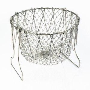 Складная решетка для приготовления пищи Chef Basket Шеф Баскет  фото