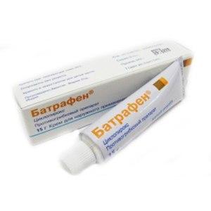 Противогрибковое средство  Батрафен (Batrafen) крем фото