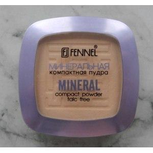 Минеральная компактная пудра Fennel Mineral compact powder talc free фото