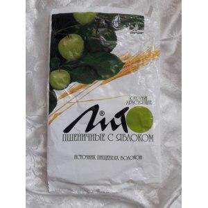 Отруби ЛИТО Пшеничные хрустящие с яблоком фото