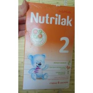 Смесь молочная сухая адаптированная Нутрилак последующая старше 6 месяцев фото