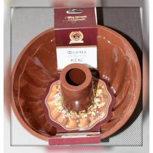 Силиконовая форма для выпечки Marmiton Кекс с отверстием Арт: 16035 фото