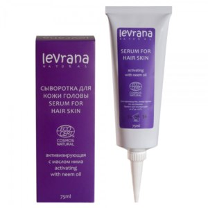 Сыворотка для кожи головы Levrana Активизирующая с маслом нима фото