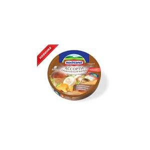 Сыр плавленный Hochland Грибная корзинка Ассорти фото