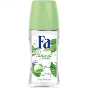 Дезодорант Fa роликовый Pure & Natural Белый чай фото