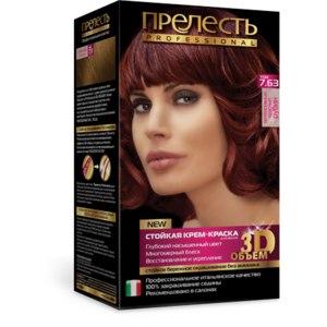 Краска для волос без аммиака Прелесть Professional 3D-объем фото