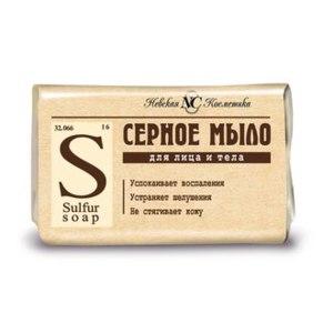 Мыло Невская косметика Серное фото