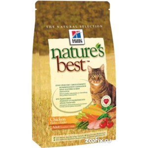 Hill`s Nature`s Best Feline Adult Chicken фото