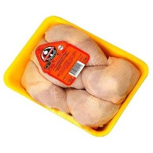 Курица охлаждённая Петелинка куриные бедра охлажденные фото