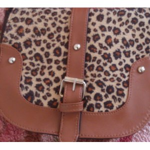 Сумка через плечо Aliexpress New-Arrival-New-match-Cute-small-leopard-print-vintage-buckle-all-match-shoulder-bag-messenger-bag фото