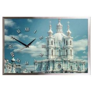 """Настенные часы-картина Династия 03-163 """"Смольный"""" фото"""