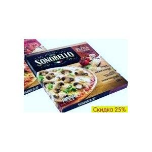 Пицца Sonobello  с грибами  фото