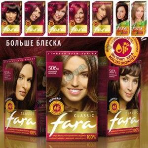 Краска для волос Fara Classic фото