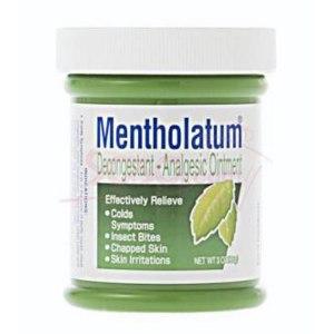 Мазь для наружного применения Mentholatum MEDICATION Decongestant – Analgesic Ointment фото