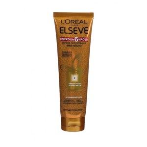 Крем для волос L'Oreal Paris Elseve Роскошь 6 Масел Легкое Питательное Крем-Масло фото