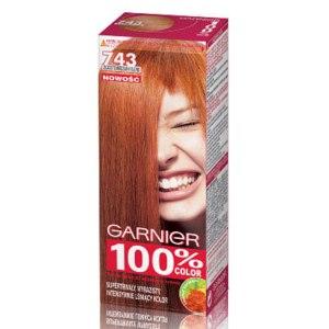 Крем-краска для волос Garnier 100% color Яркая, стойкая  фото
