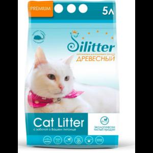 Наполнитель для кошачьего туалета Slitter древесный фото