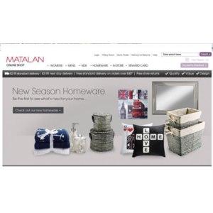 www.matalan.co.uk - Английский интернет магазин одежды и товаров для дома фото